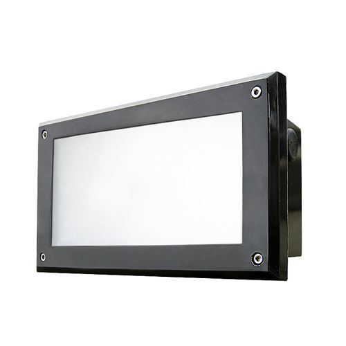 Dabmar FG2000 Recessed 120V Incandescent Fluorescent LED Brick, Wall and Step Light