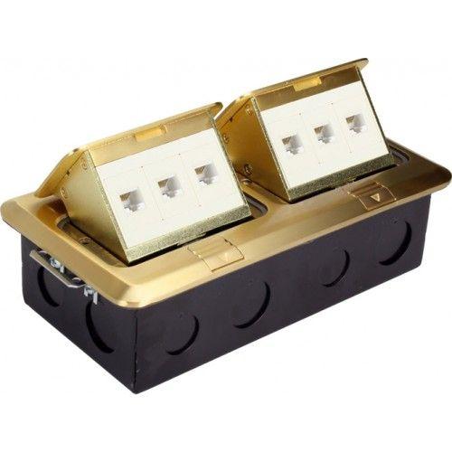 Orbit FLBPU-LL Floor Box Pop-up with 2 Duplex Receptacles