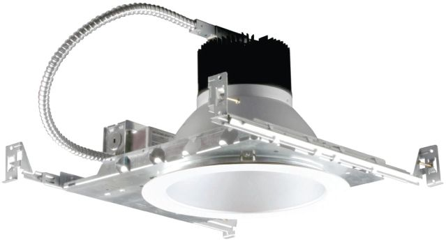 Image 1 of Alcon Lighting 14086-8 Lumino Commercial LED 8 Inch New Construction Recessed Direct Down Light