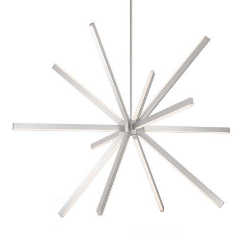 Alcon Lighting 12257 Nova Architectural LED Adjustable Contemporary Suspended Pendant Mount Luminaire