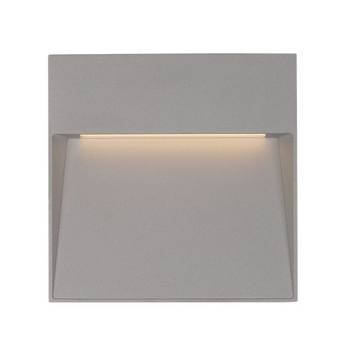 Alcon Lighting 11245 Lume II Architectural LED Contemporary Square Outdoor Wall Sconce