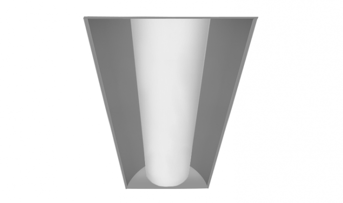 Alcon Lighting 14010 Prime Architectural LED 1x4 Low Profile Recessed Center Basket Ribbed Direct Light Troffer