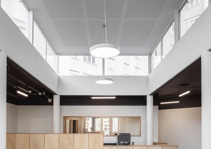 Image 1 of LED Round Skylight Pendant - 5ft