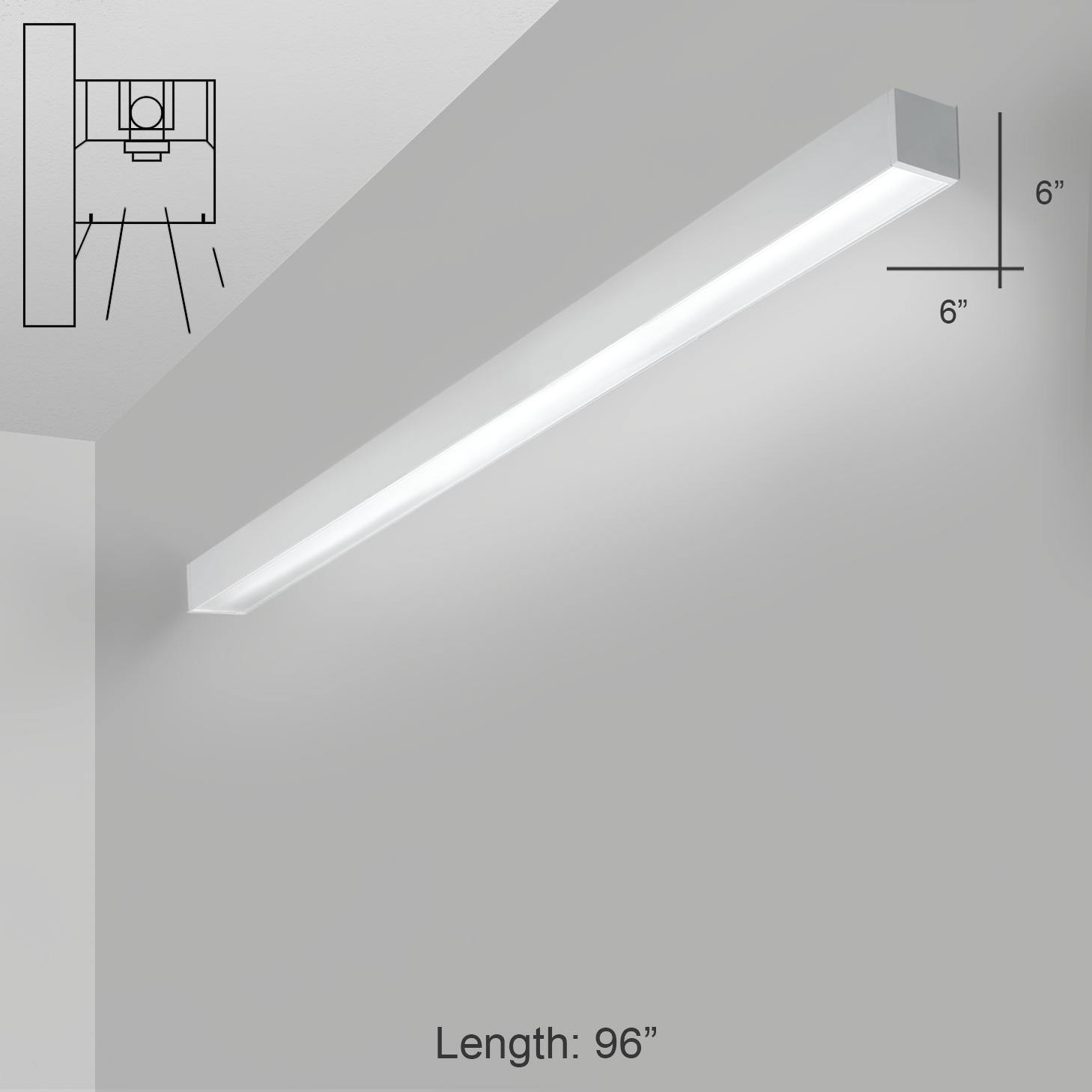 Alcon Lighting 12200 6 W 8 Rft Series