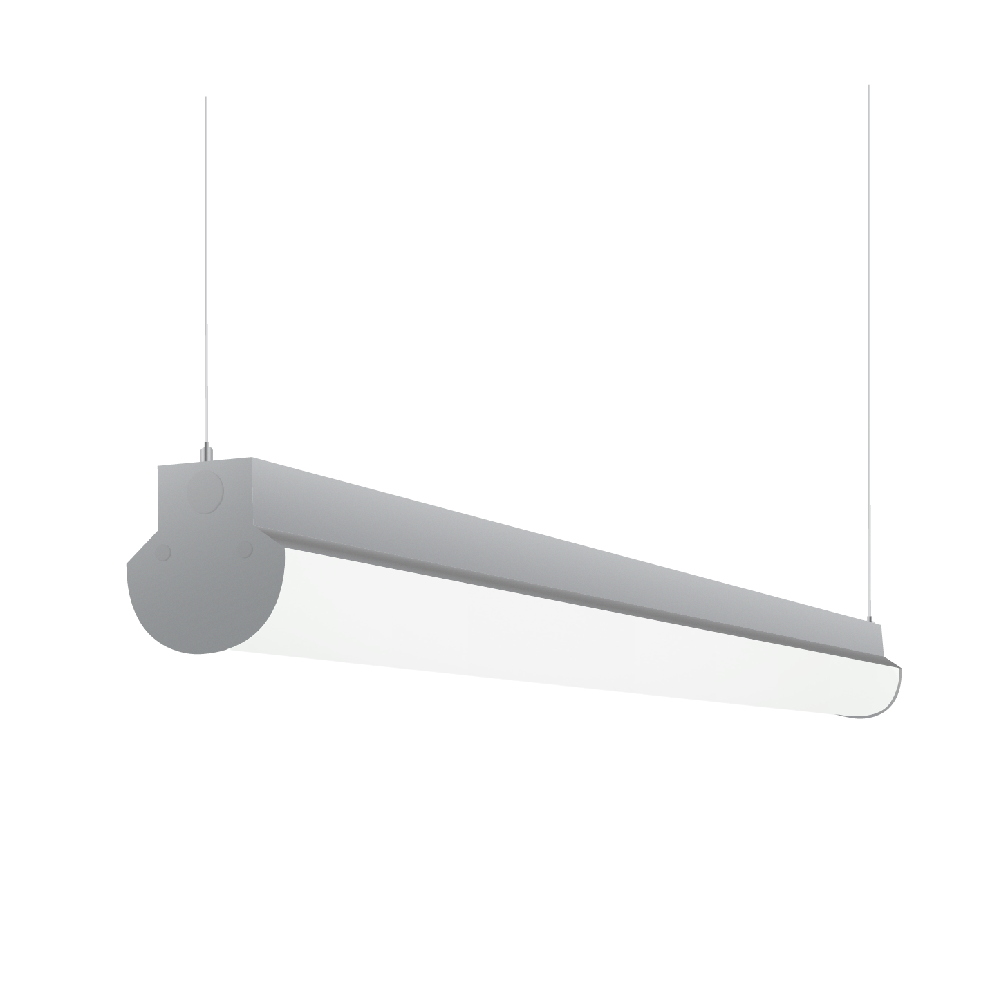 wholesale dealer 98df0 491c4 Alcon Lighting 12122-4 Lombardy Industrial Series Commercial LED 4 Foot  Linear Suspension Pendant Direct Down Light Strip