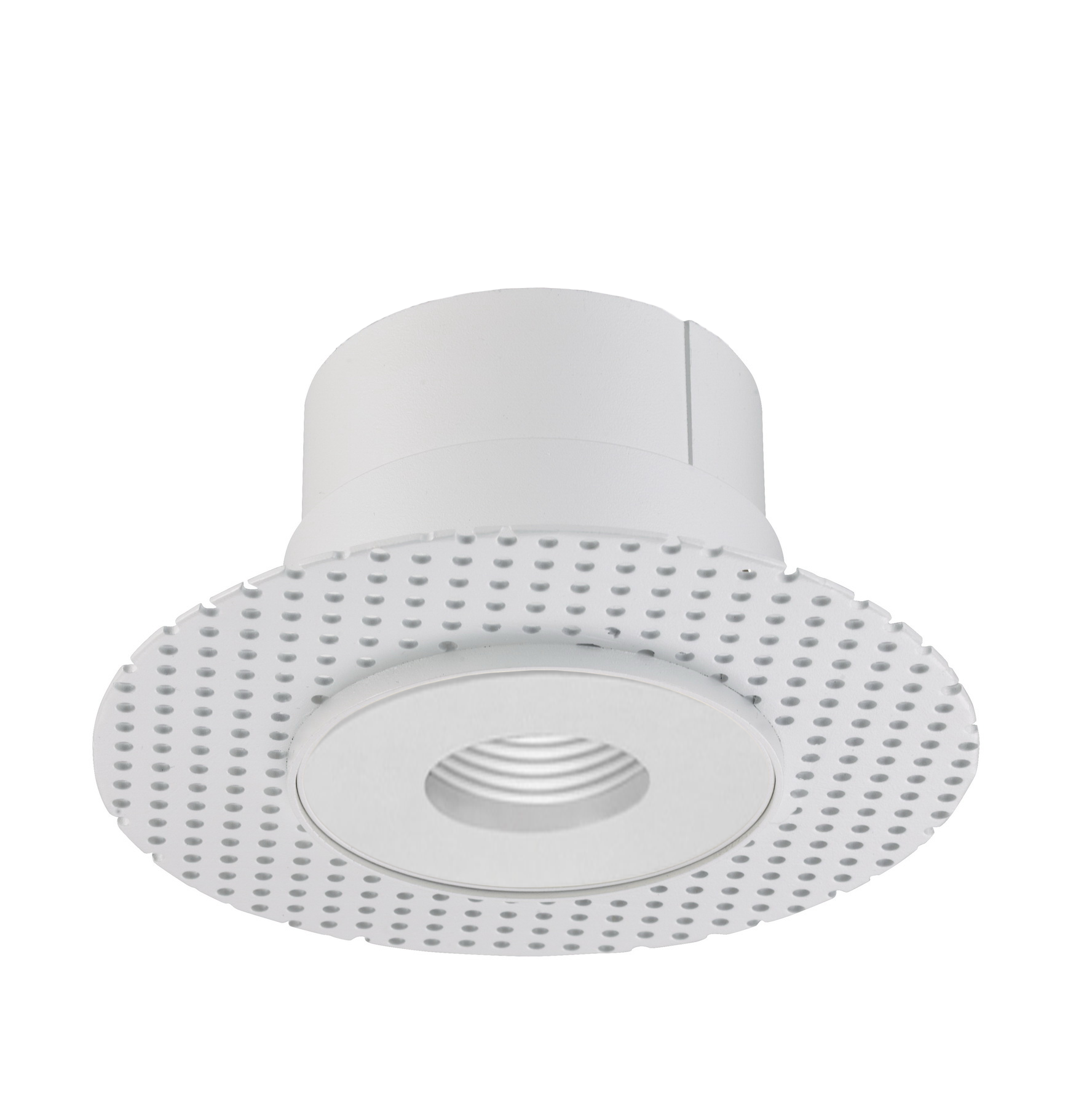 Alcon Lighting 14013 P Illusione 4 Inch Architectural Led Round Trimless Recessed Pinhole Light Fixture