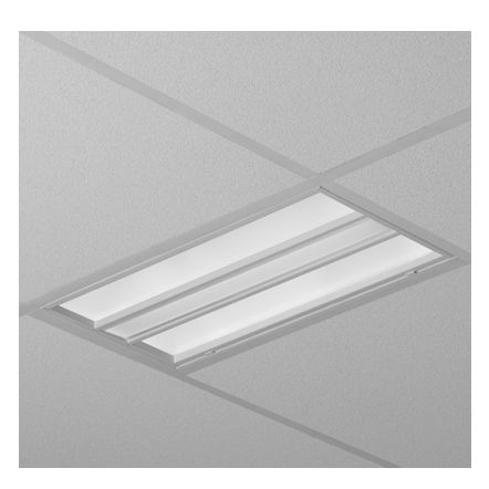 Finelite Hpr High Performance Recessed Fluorescent 1x2