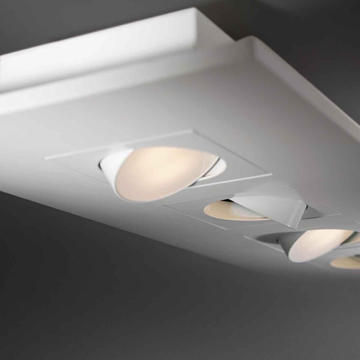 Alcon Lighting 12050 Elegante Architectural Led Surface Mount Adjustable Downlight Multiple Fixture