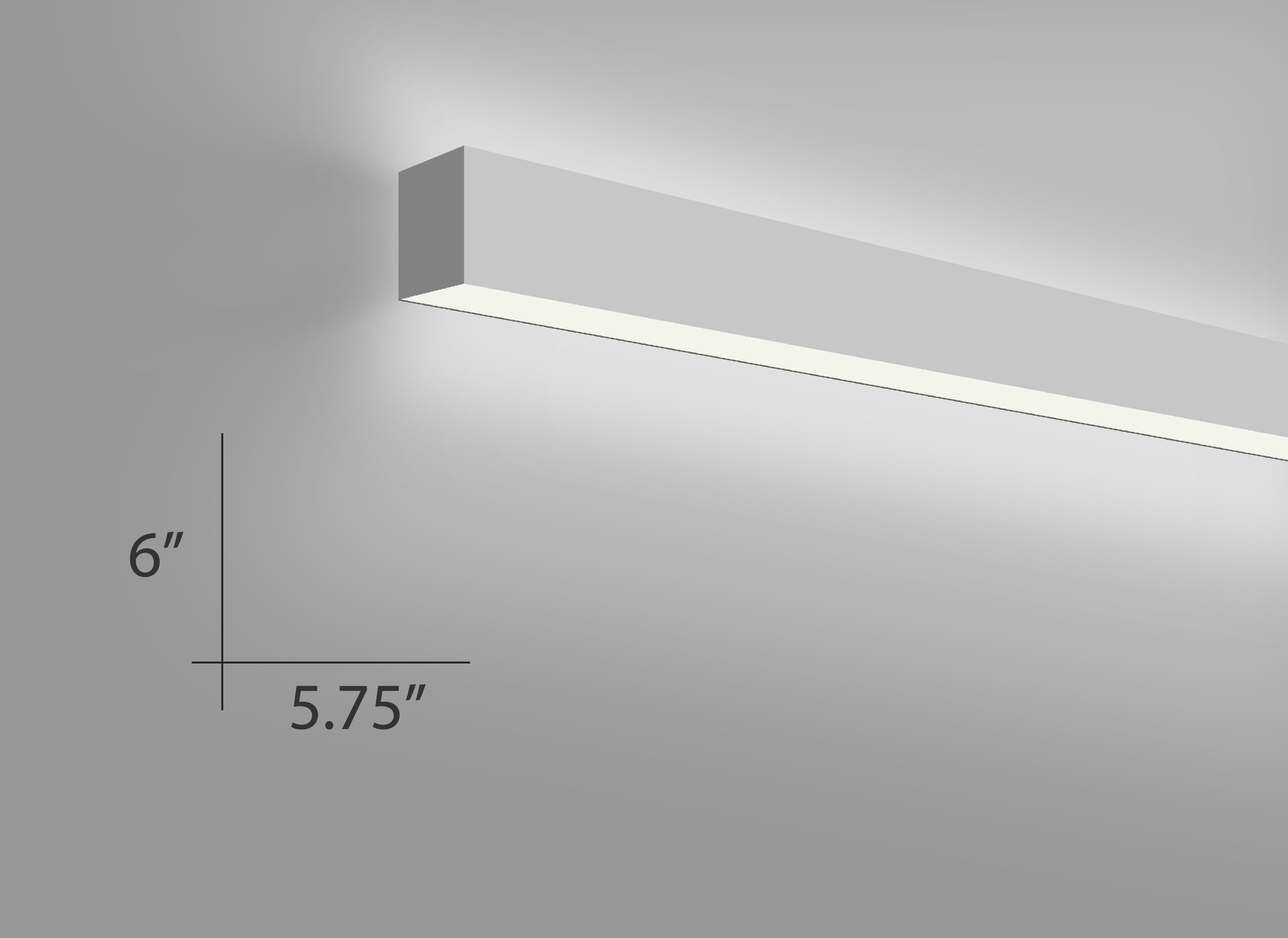 Alcon Lighting Beam 66 Wall Mount 6019 W Architectural Linear Fluorescent Light Fixture
