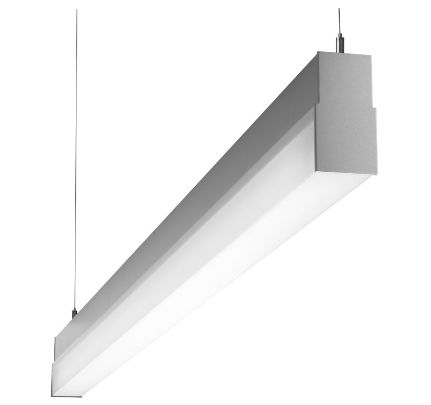 Prudential Lighting Bionic Led 4 Foot Direct Indirect