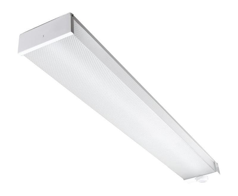 Maxlite Lsu4806su50dv40 Utility Wrap 4000k 50 Watts Led Linear Commercial Garage Canopy Lighting Fixture Optional Motion Sensor Ms