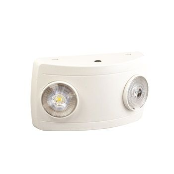 Alcon Lighting 16110 Vista Architectural Led Compact Dual Head Emergency Light Fixture