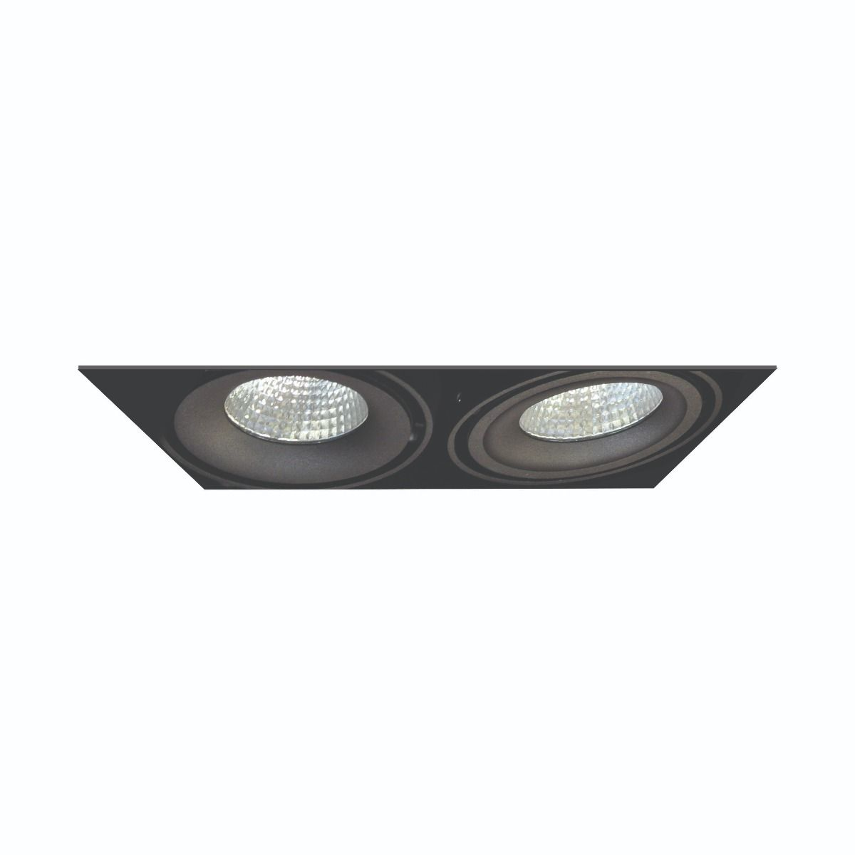 Alcon Lighting 14026 2 Oculare Architectural Led Trimless Adjule Heads Multiple Recessed System Direct Down Fixture