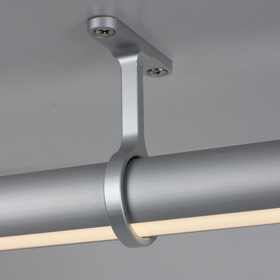 Closet Light Fixture: Alcon Lighting 14205 Regal LED Lighted Closet Rod Direct