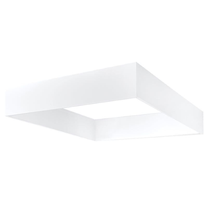 Alcon Lighting 11150 Prisma Architectural Led Surface Mount Shallow Shroud And Led Flat Panel Box