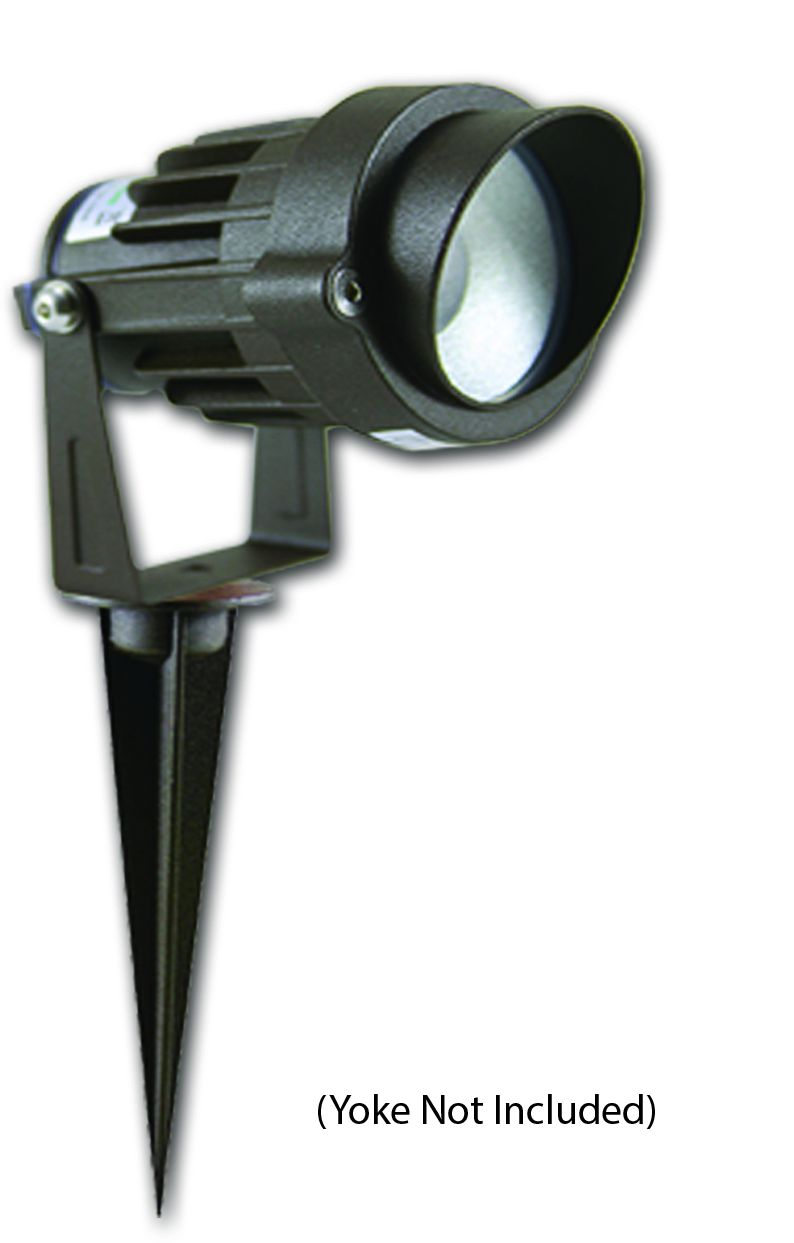 Alcon Lighting Swat 9046 Architectural Grade 140 Beam Angle Led Directional Uplight Landscape Fixture