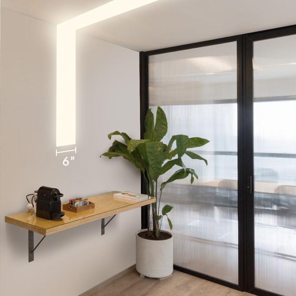 Alcon Lighting 12100 66 R L Continuum 66 Architectural Led