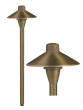 Image 1 of Alcon Lighting 9082 Peyton Solid Brass Low Voltage LED Architectural Landscape Path Light Fixture