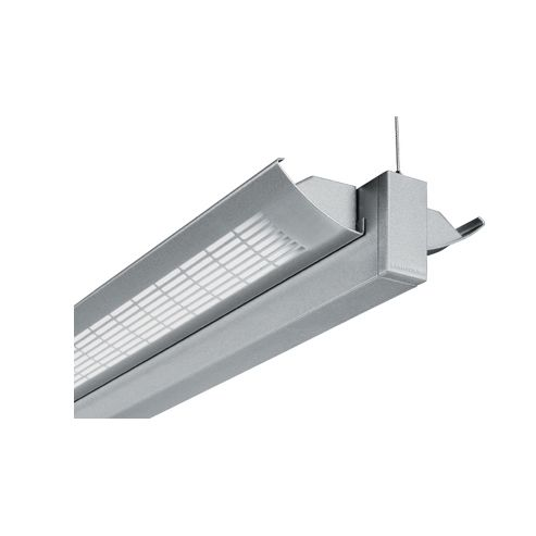Image 1 of Lightolier Silhouette SD Direct / Indirect Lighting Suspended Fluorescent Light Fixture T5HO