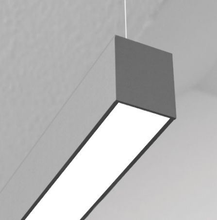 Image 1 of Cooper 23DIP Straight and Narrow LED Pendant Light Fixture
