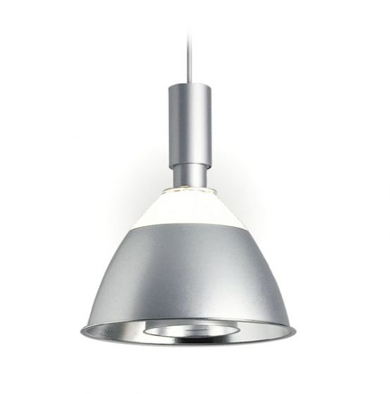 Delray Lighting 279 Aspect Metal Reflector Fluorescent Architectural Pendant with Uplight