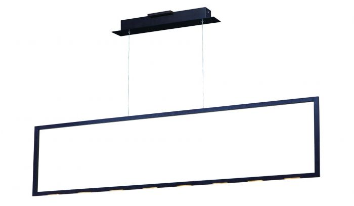 Image 2 of ET2 Rhombus LED 55 Inch Linear Square Pendant