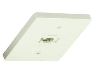 Image 1 of Alcon Lighting 13130 Square Monopoint Architectural LED Track Light Fixture - Single Circuit