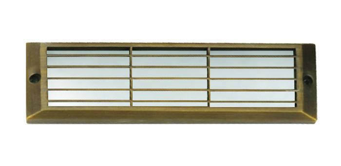 Image 1 of Alcon Lighting 9409-F Castel Architectural LED Low Voltage Step Light Flush Mount Fixture
