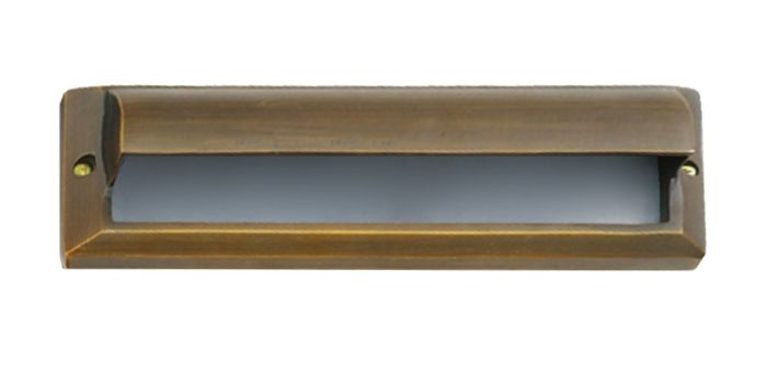 Image 1 of Alcon Lighting 9507-F Pacey Architectural LED Low Voltage Step Light Flush Mount Fixture