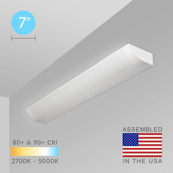 Alcon Lighting 11113 Sherlock Architectural LED Modern Linear Wall Mount Direct/Indirect Light Fixture