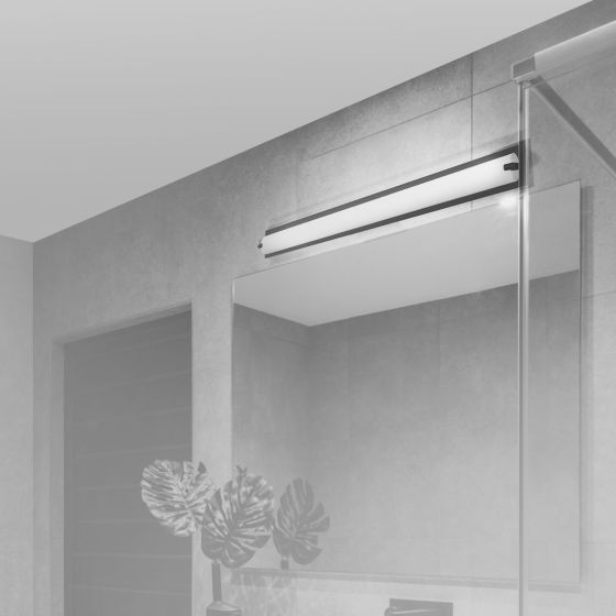 Alcon Lighting 11123 Half Cylinder Vanity LED Linear Wall Mount Lighting Fixture