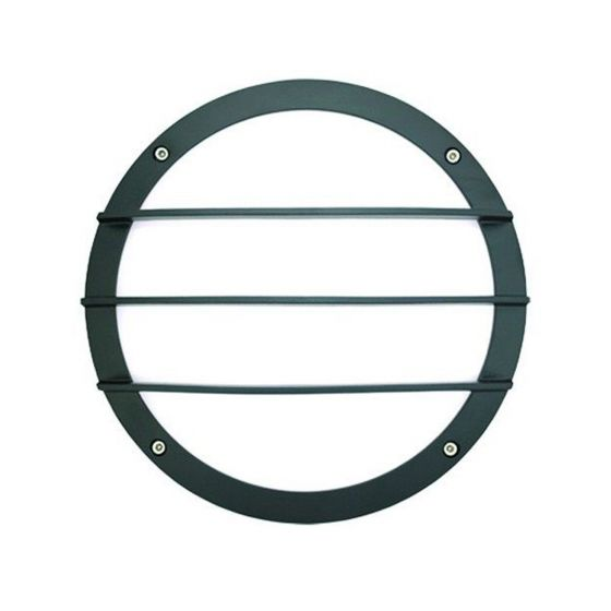 Alcon Lighting 11231-G Optic 10 Inch Round Guard Bar Face Guard Architectural LED Wallpack Outdoor Vandal Proof Luminaire
