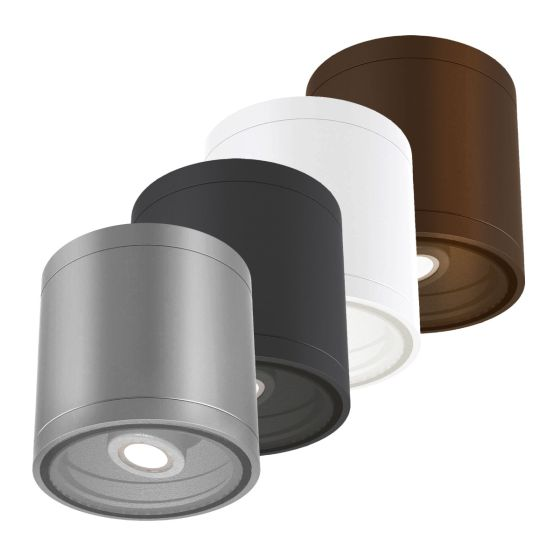 Alcon Lighting 11236-ADJ Pavo Architectural LED 6 Inch Cylinder Surface Ceiling Mount Adjustable Down Light Fixture