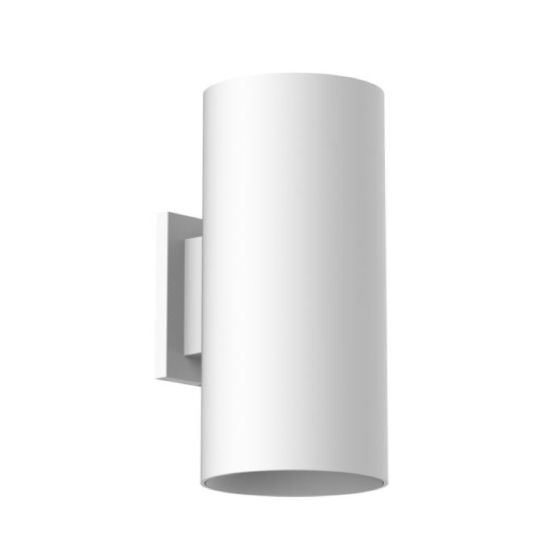 Alcon Lighting 11237-W Cilindro II Architectural LED Medium Modern Cylinder Wall Mount Direct Light Fixture
