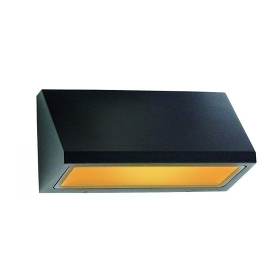 Alcon Lighting 11241-S Turtle Friendly Dark Sky Architectural Amber LED Wall Mount Light Fixture