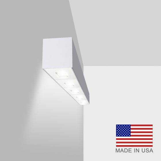 Alcon Lighting 11246-W Linear Adjustable Wall Mount Spot Light Box