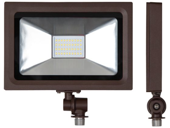 Alcon 11411 Outdoor LED Narrow Profile Floodlight