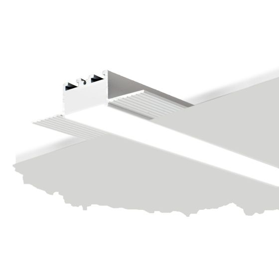 ALCON 12100-10-LR Drywall Height Recessed Linear Trimless LED Light
