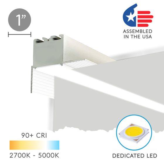 Alcon 12100-10-PR Linear Recessed Wall Wash Perimeter LED Light