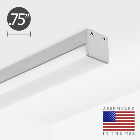 Alcon 12100-10-S Low-Profile Linear LED Surface-Mounted Ceiling Light Bar