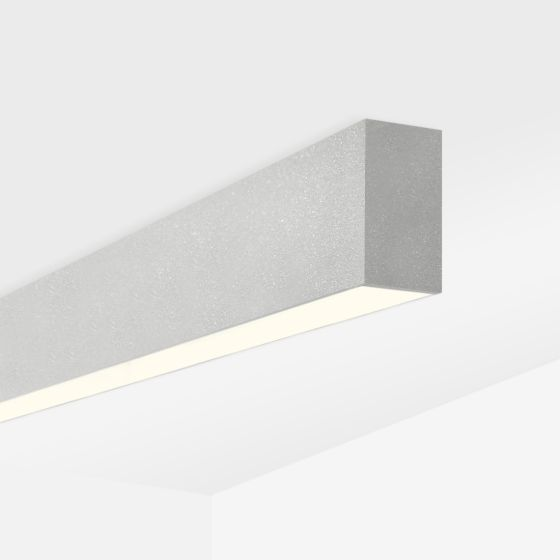 Alcon 12100-20-S Linear Surface-Mounted Color-Tunable LED Ceiling Light