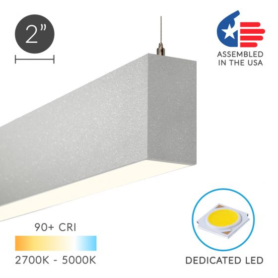 Alcon 12100-20-P Continuum 20 Series LED Linear Pendant
