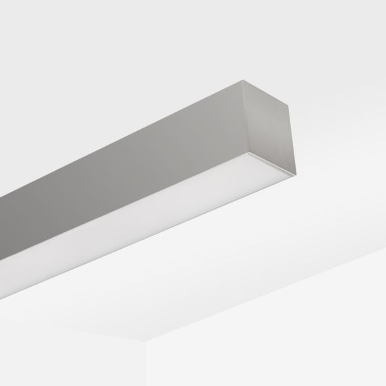 Alcon 12100-33-S Linear Surface-Mounted LED Ceiling Light