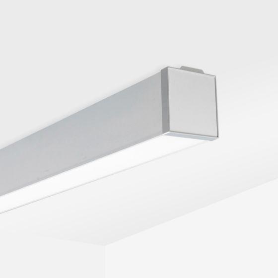 Alcon 12100-35-S Wet-Location, Surface-Mounted Linear Outdoor LED Ceiling Light