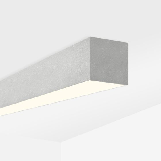 Alcon 12100-40-S Linear Surface-Mounted Color-Tunable LED Ceiling Light