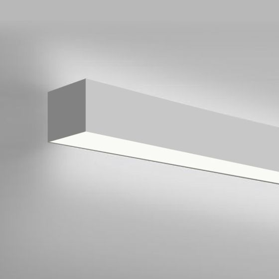 Alcon Lighting 12100-40-W Continuum 40 Series Architectural Direct and Indirect Wall Mount LED Linear Lighting
