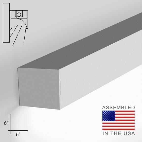 12100-66-W-WW LED Linear Wall Mount Wall Wash Light