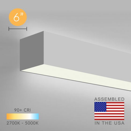 12100-66-W LED Linear Wall Direct/Indirect Light