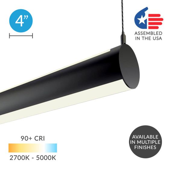 Alcon 12100-R4 LED Tunable-White Tube Pendant Light