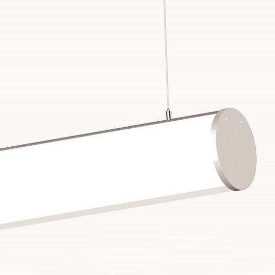 Alcon Lighting 12117-2 Tubob II Architectural 2 Inch LED Linear Channel Pendant Mount Direct Down Light Fixture